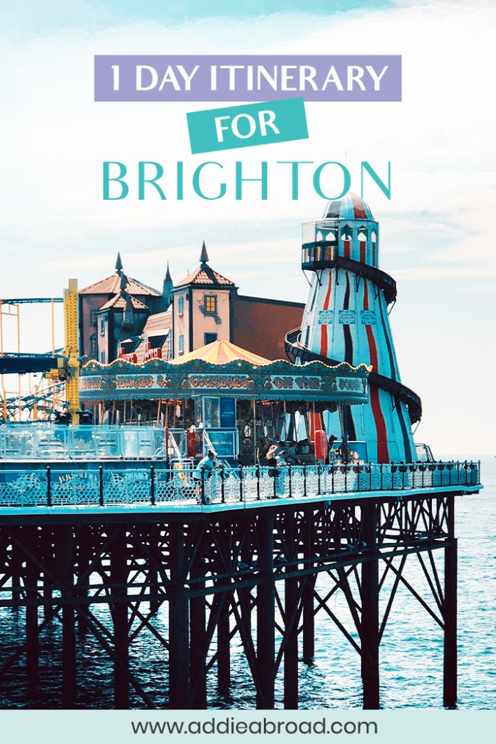 Looking for the best things to do in Brighton on a Brighton day trip from London? This blog post has it all! Brighton Pier, The Royal Pavilion, The Lanes, and more. Click through to read.