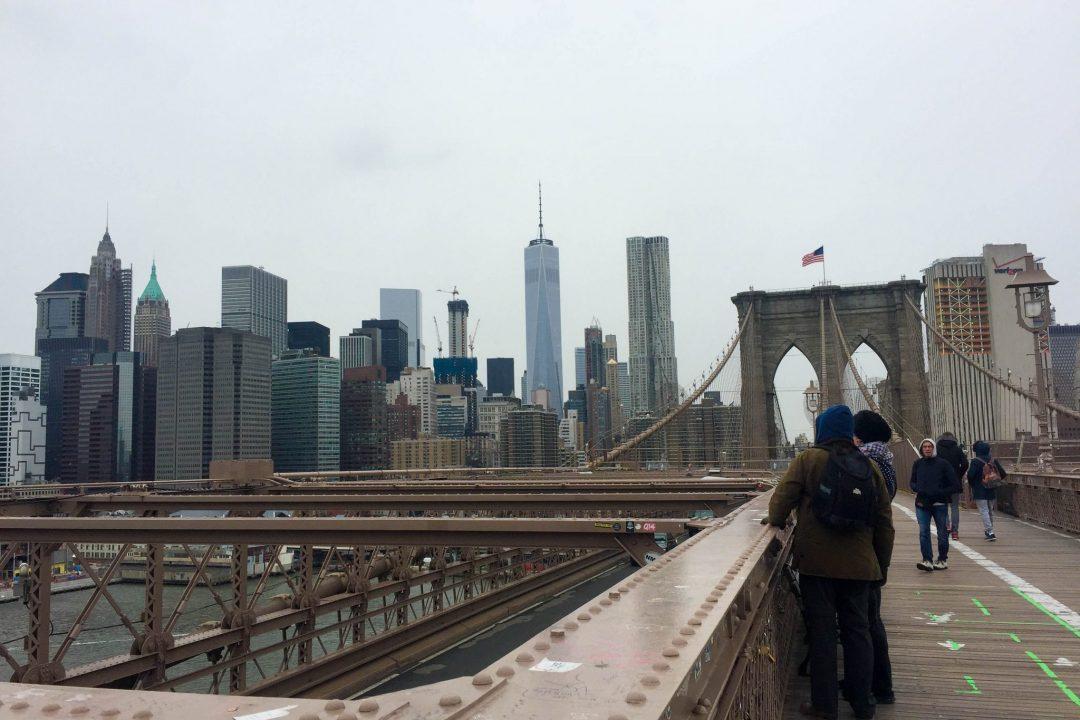 Brooklyn Bridge & One World Trade Center