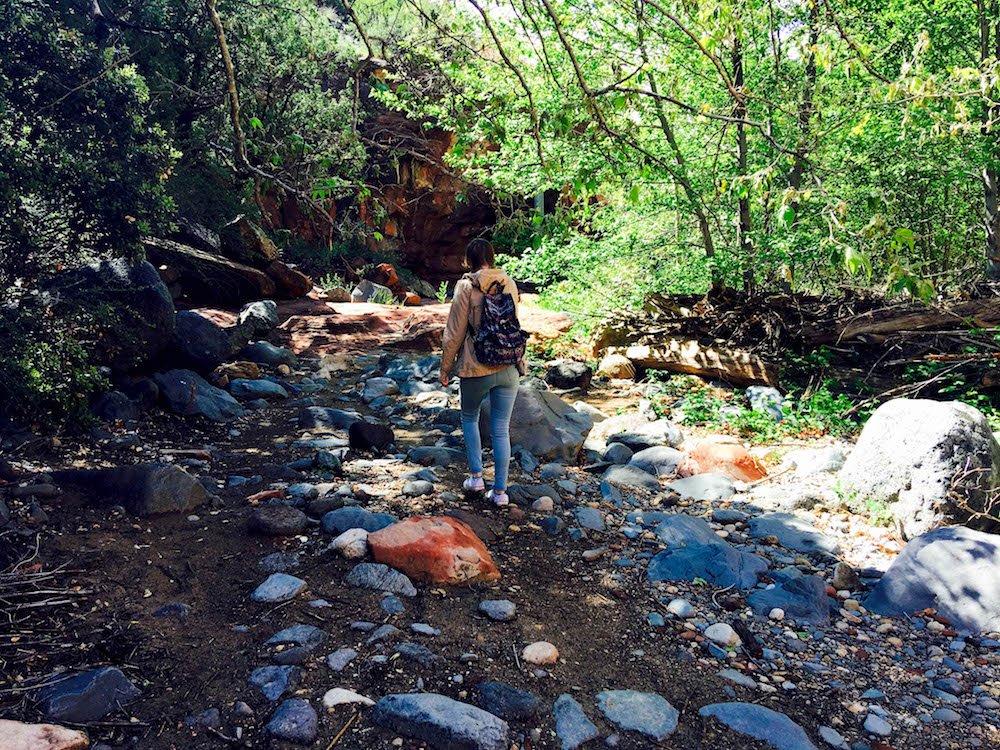 Addie Forest Slide Rock State Park Arizona USA