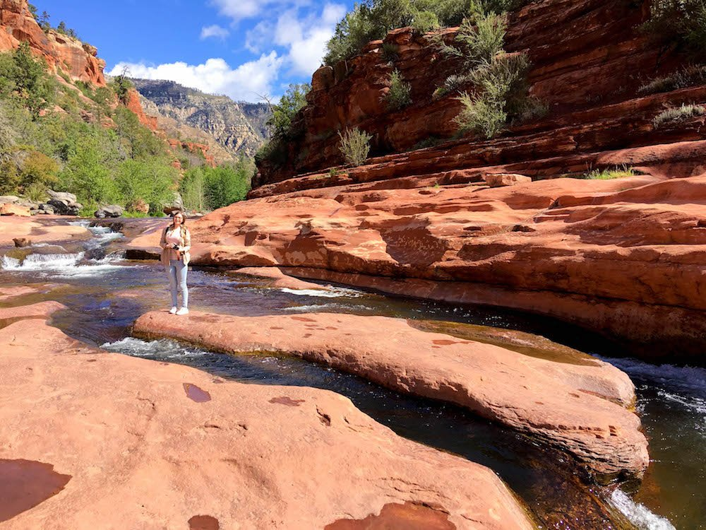 Addie River Red Rock Slide Rock State Park Arizona USA