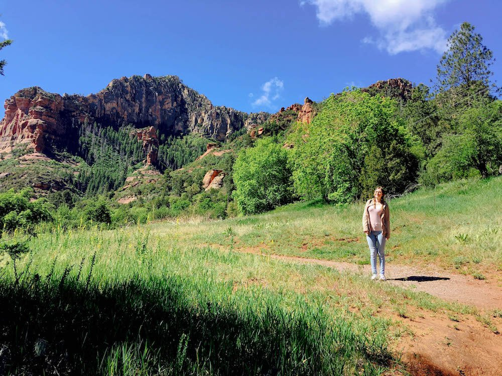 Addie Trail Slide Rock State Park Arizona USA
