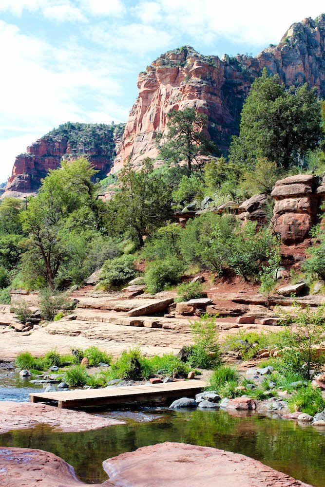 Bridge Slide Rock State Park Arizona USA