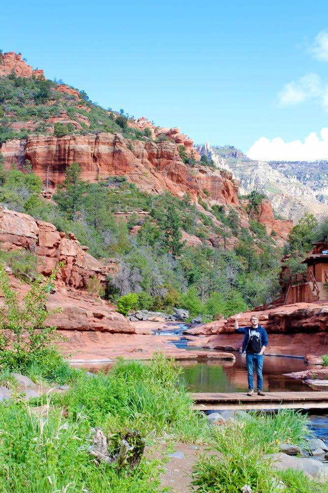 Connor Slide Rock State Park Arizona USA