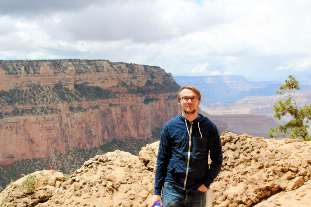 Grand Canyon South Kaibab Trail Connor