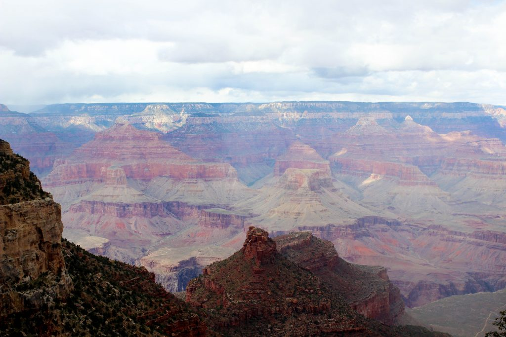The sprawling Grand Canyon from Ooh Ahh Point