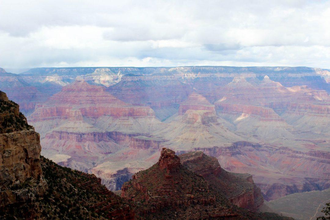 Grand Canyon South Kaibab Trail Ooh Ahh Point