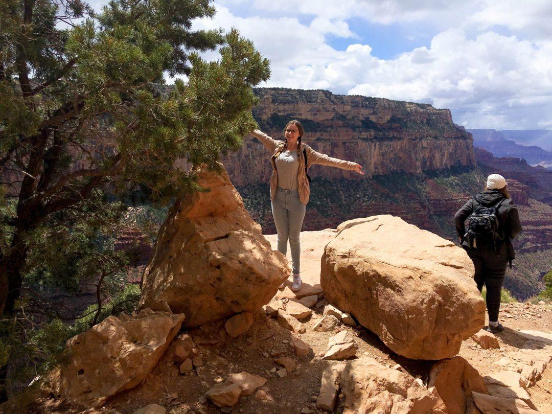 Grand Canyon South Kaibab Trail Addie