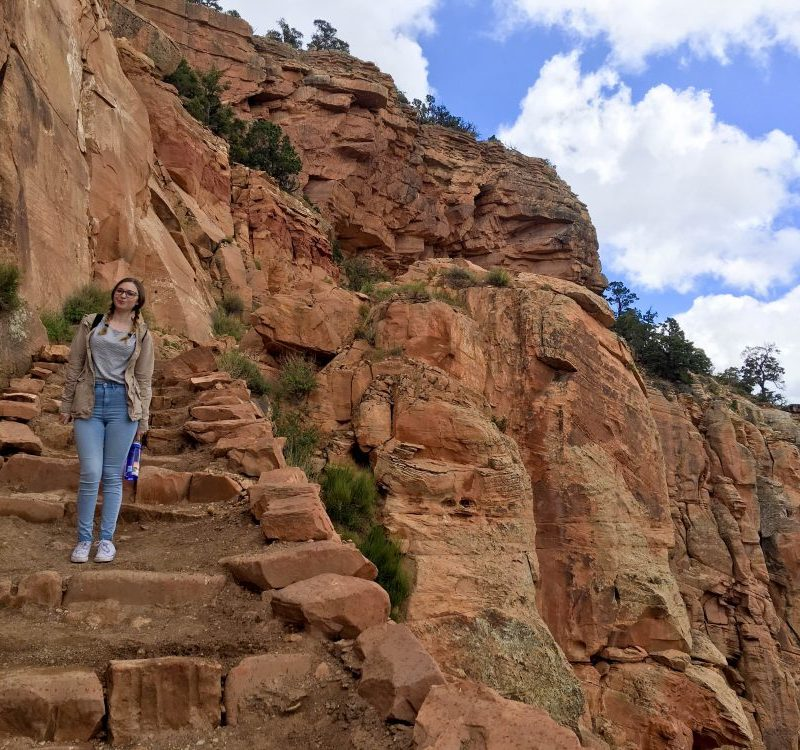 Addie Grand Canyon South Kaibab Trail