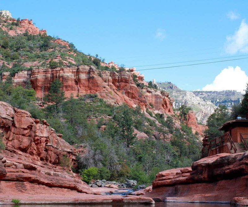 Red Rock Slide Rock State Park Arizona USA