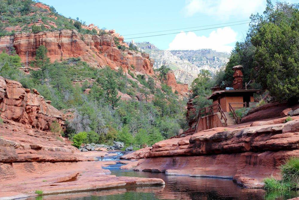 River Slide Rock State Park Arizona USA