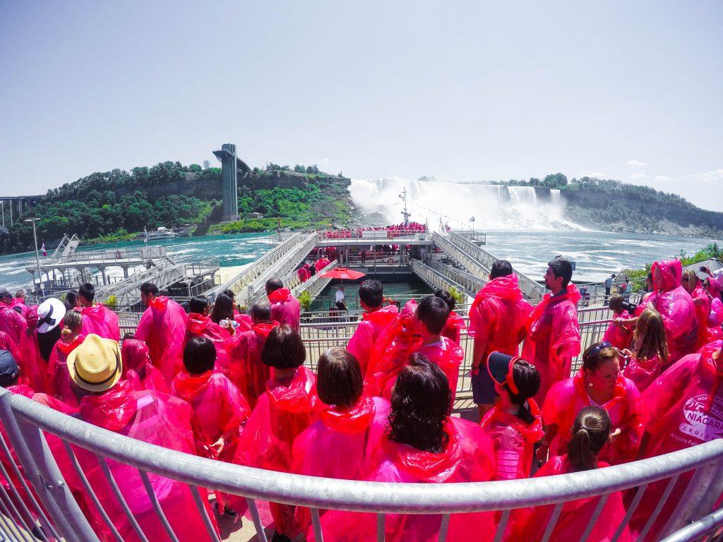 Horblower Cruises Niagara Falls Canada Boat Ride