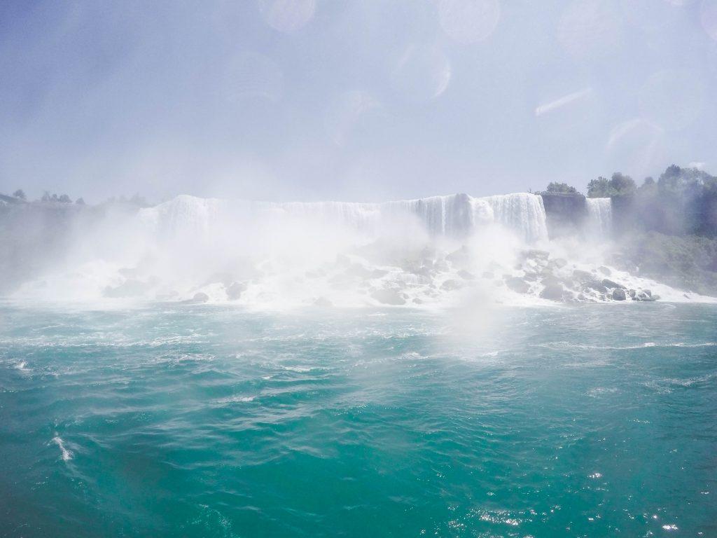 American Falls Bridal Veil Falls Niagara Falls Hornblower Cruises
