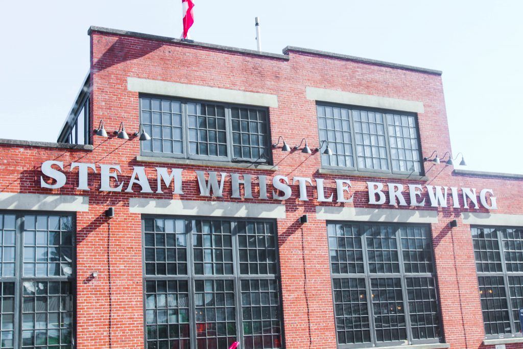 Steam Whistle Brewing Roundhouse Park Toronto