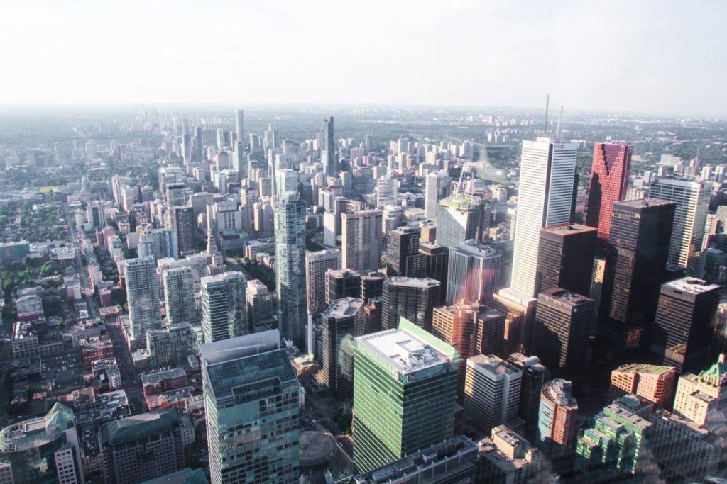 CN Tower View Toronto