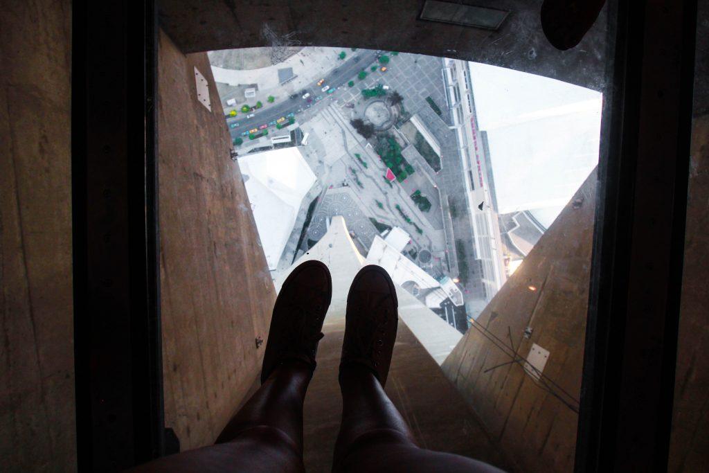 CN Tower Glass Floor Toronto