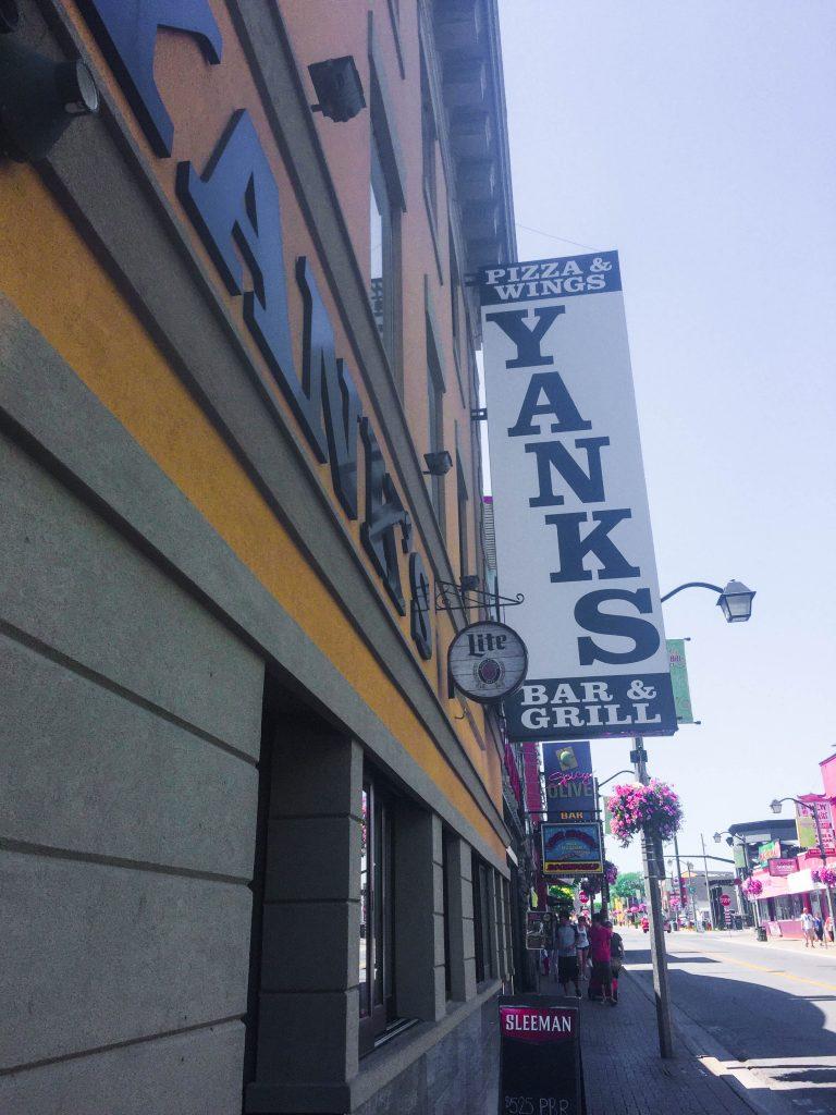 Yanks Niagara Falls