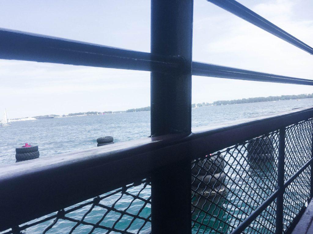 Ward's Island Ferry Toronto Islands