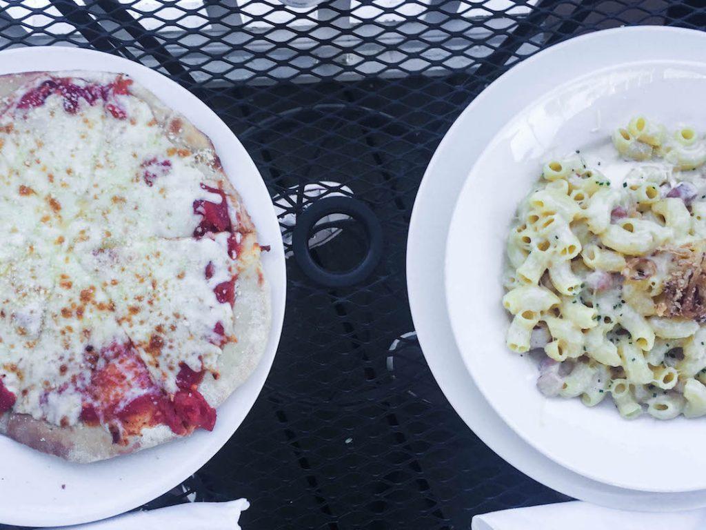 Dinner on Mackinac Island