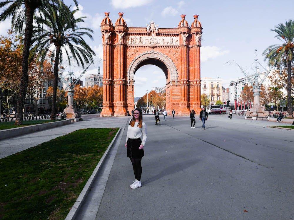 Addie Arc de Triomf Barcelona Spain