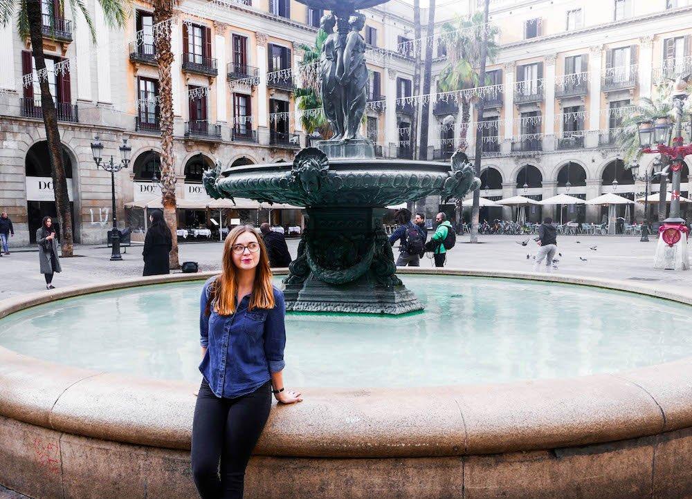 Addie Plaça Reial Barcelona Spain