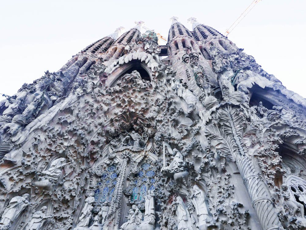 La Sagrada Familia Barcelona Sapin
