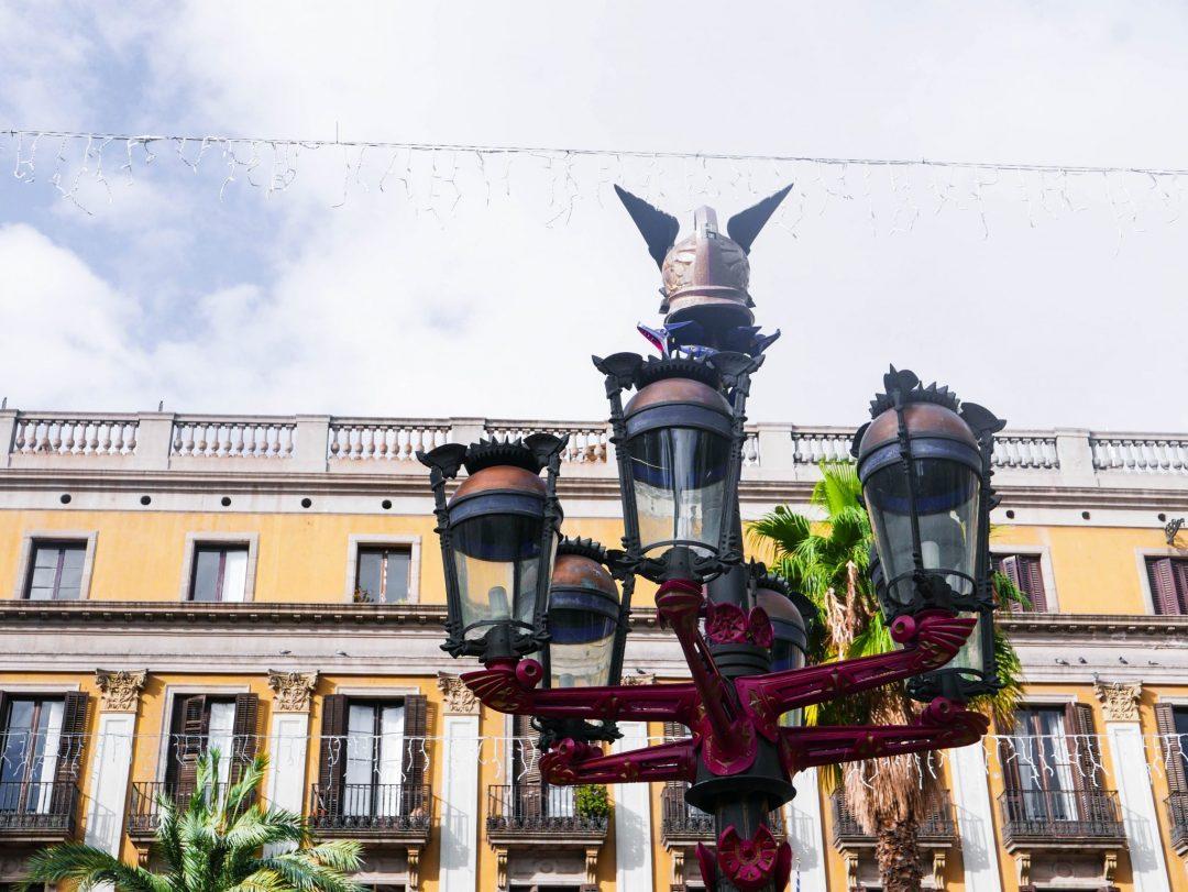 Lampost Plaça Reial Barcelona