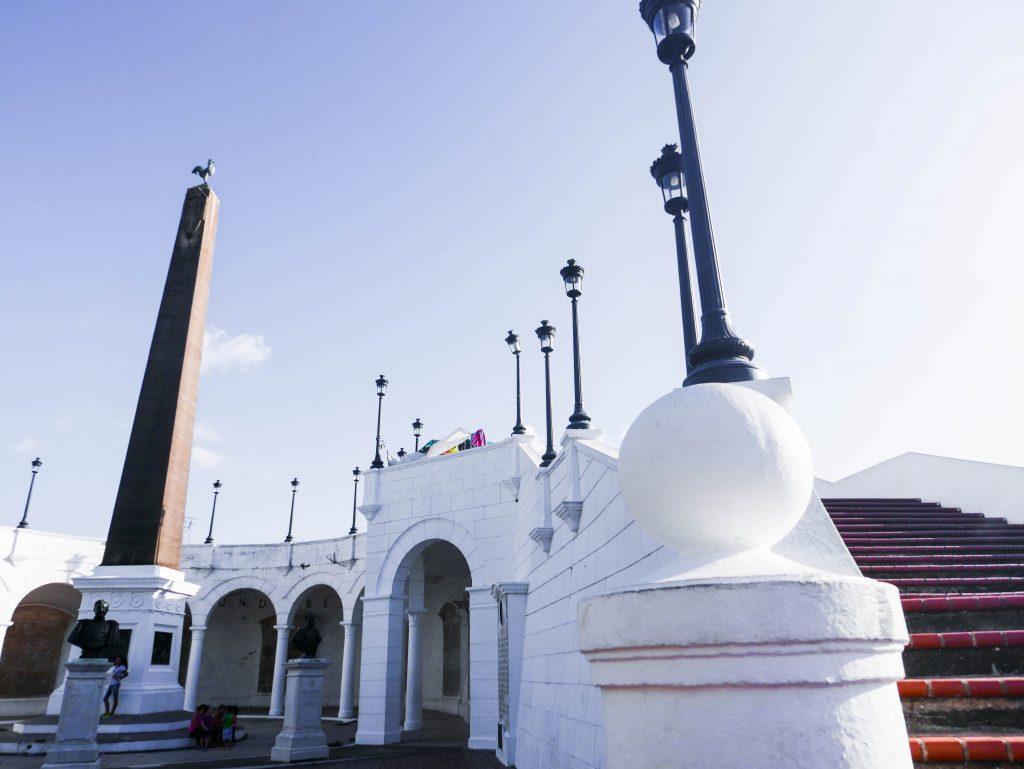 French Revolution Monument Casco Viejo Panama City Panama