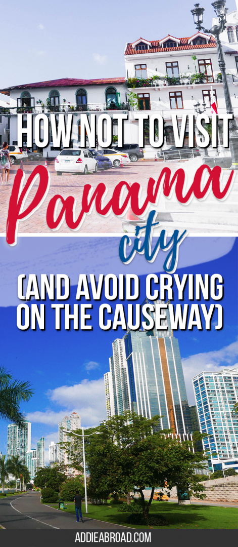 Panama City, Panama will likely be your first stop on any trip to Panama. Do your best to have a great time by reading my story of how NOT to visit Panama City.