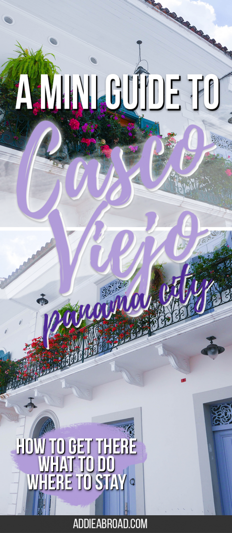 Casco Viejo, Panama City's colonial center is an absolutely beautiful section of Panama's capital city. For a mini guide on what to see and do in Casco Viejo, where to stay in Casco Viejo, and how to get there, read this post!