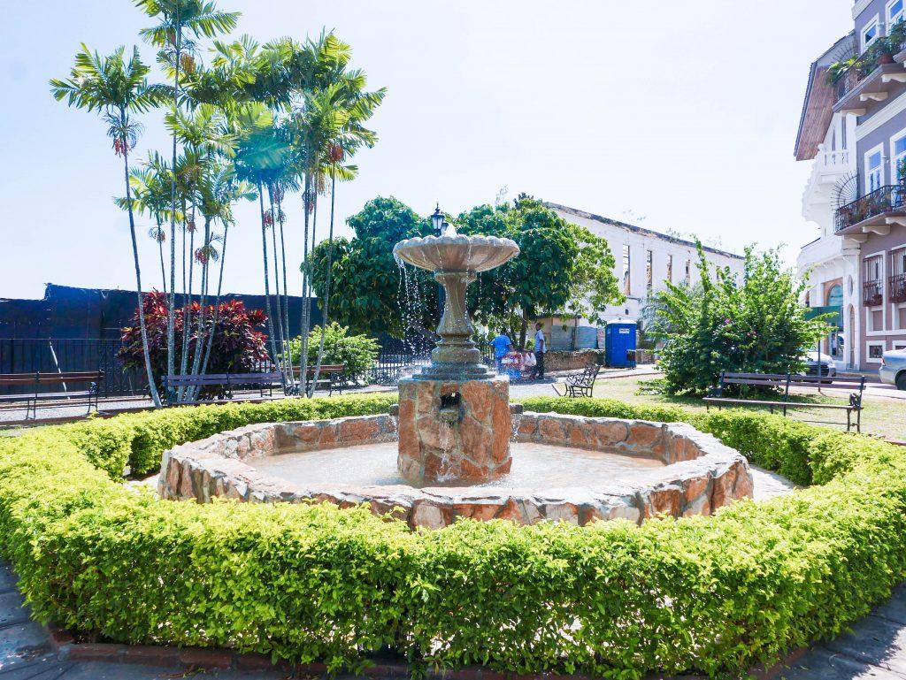 Plaza Casco Viejo Panama City