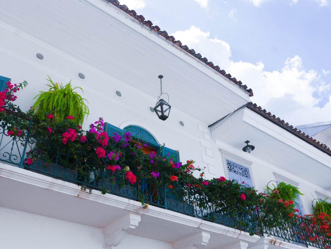 Casco Viejo Flower Balcony Panama City