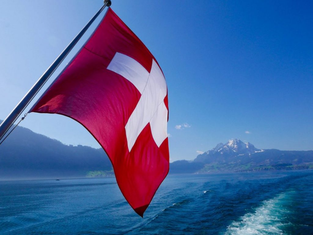 Lake Lucerne Switzerland Boat