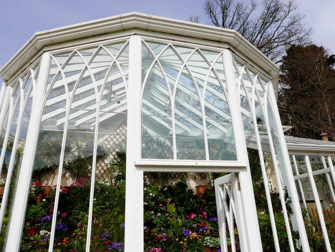 Balmoral Castle Scotland Gardens Greenhouse
