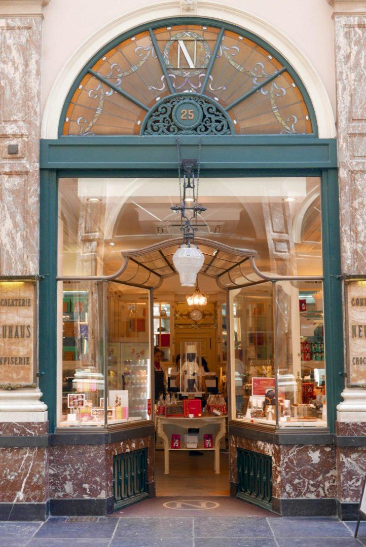 Neuhaus Chocolatier Galeries Royales St Hubert