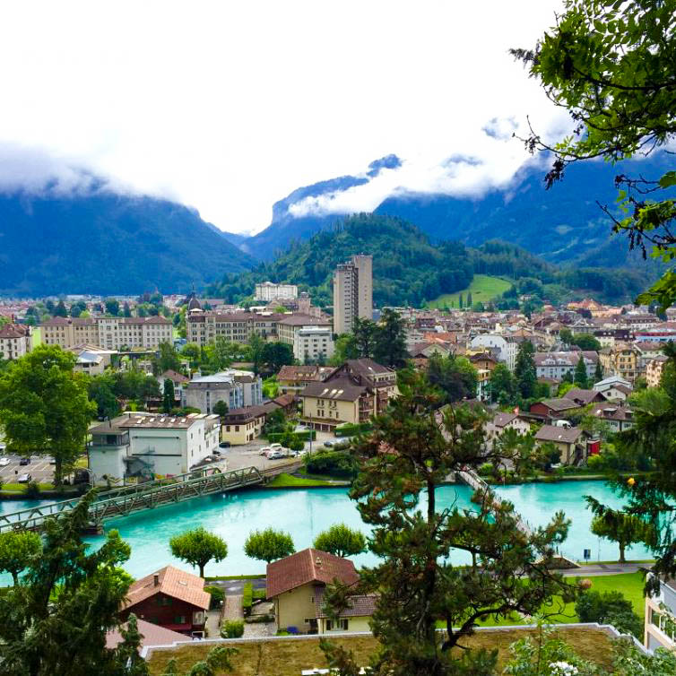 Interlaken Switzerland Mountains