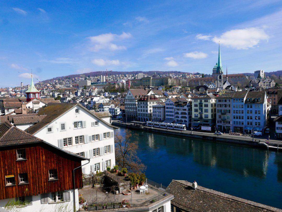 Zurich Switzerland Lindenhof