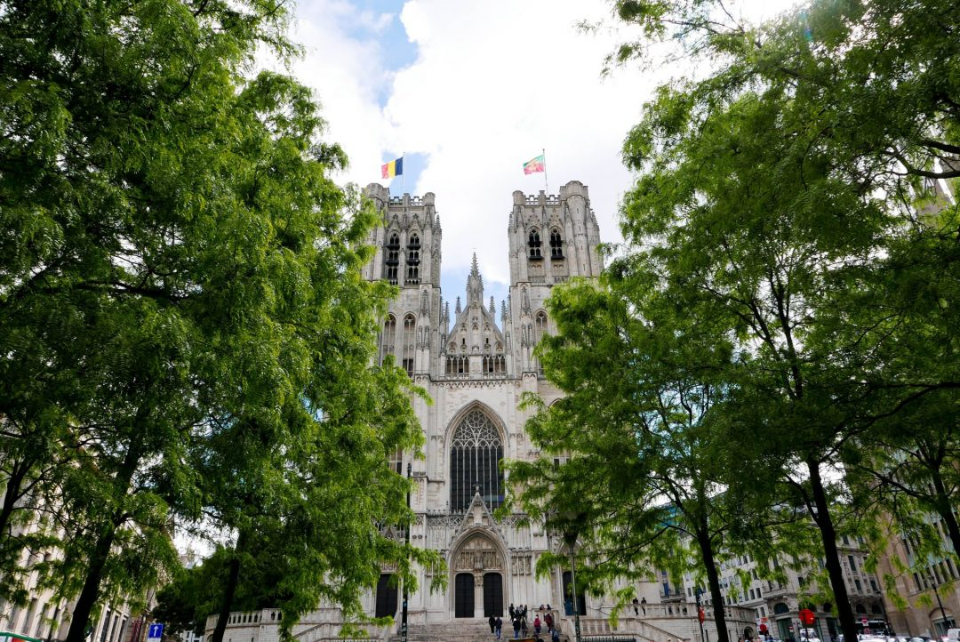 St. Michael and St. Gadula Cathedral Brussels Belgium