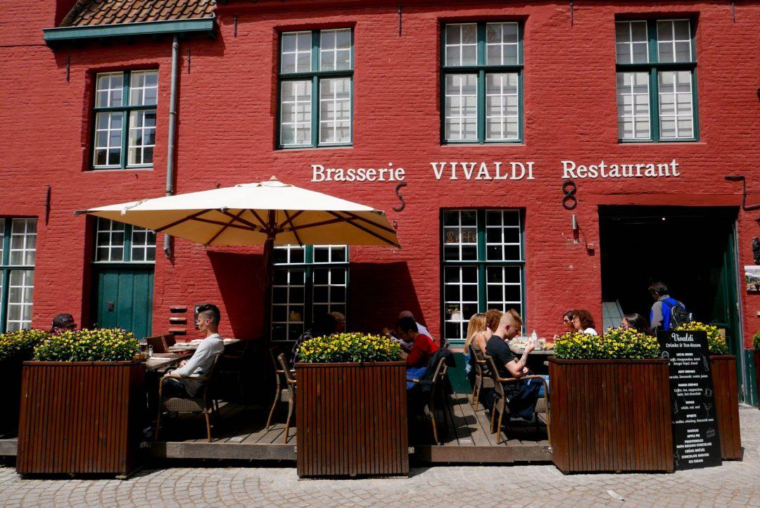 Bruges Cafe Orange