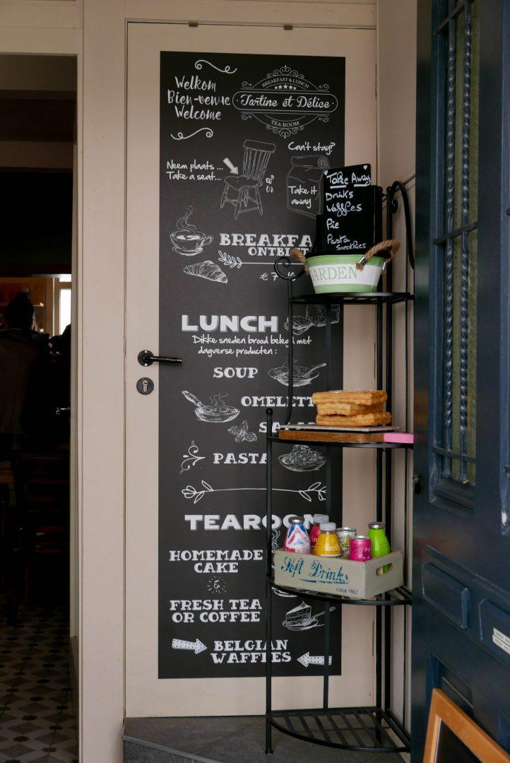 Bruges Cafe Sign