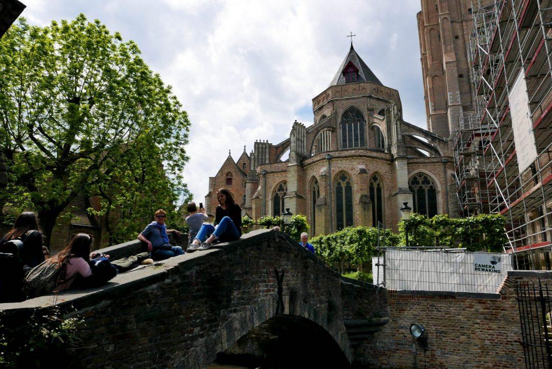 Bruges Canal Bridge