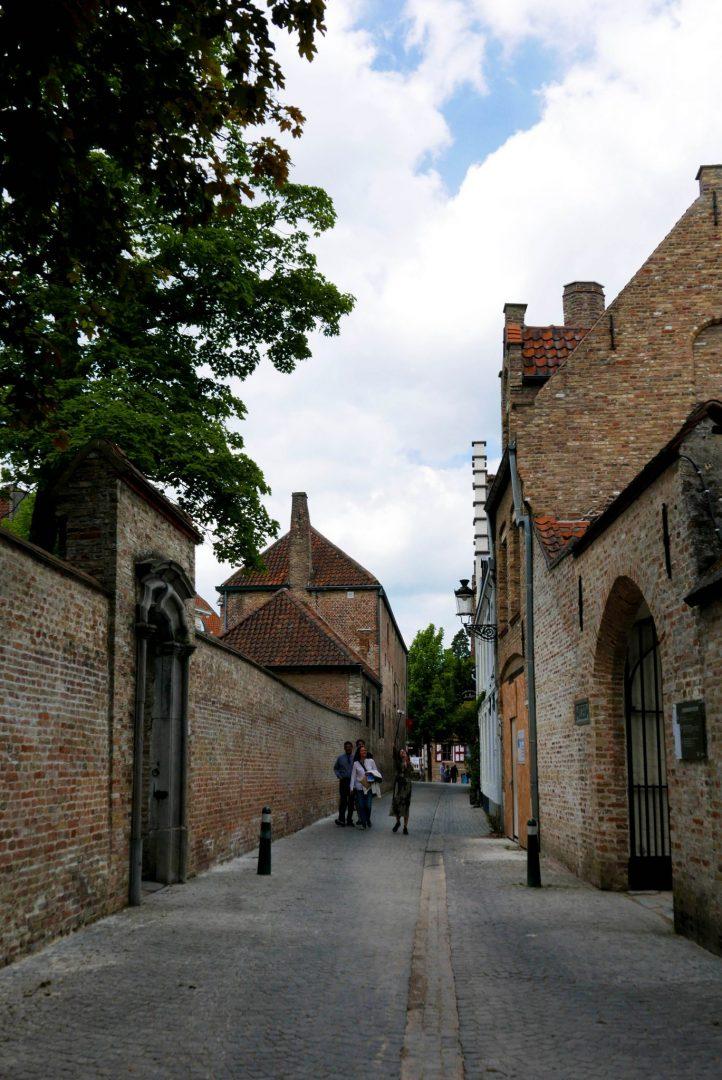 Bruges Alley