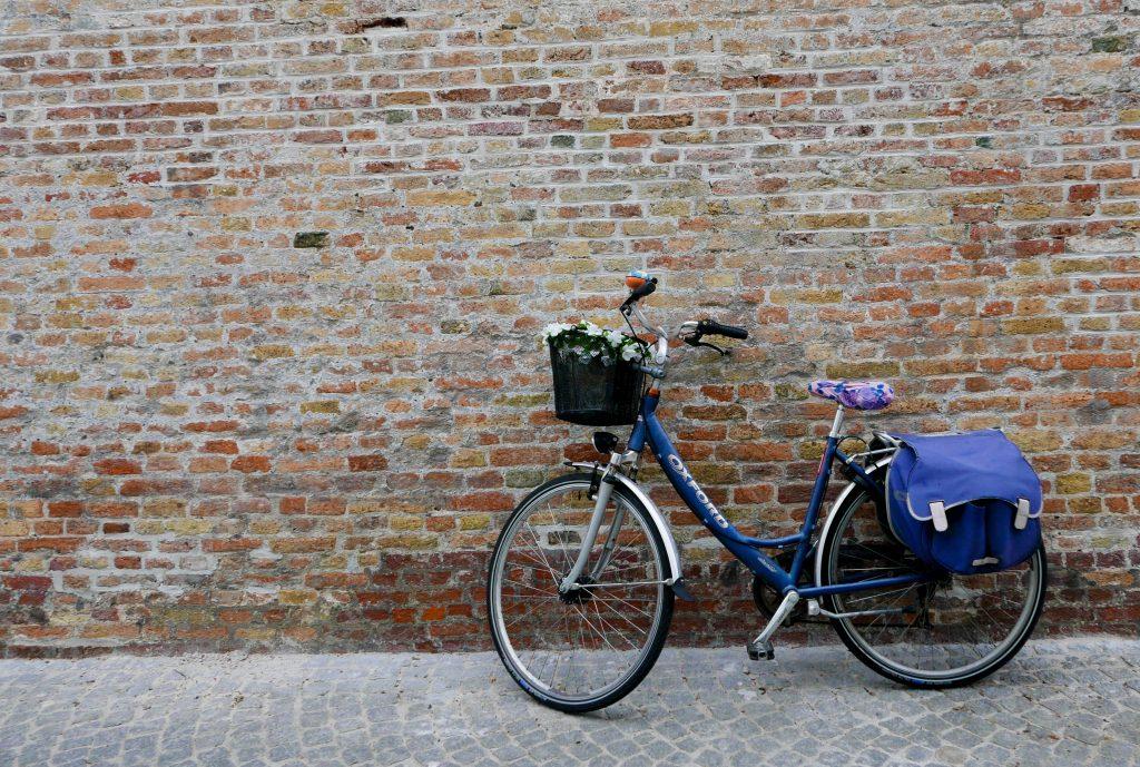 Bike Bruges Wall Belgium on a Budget