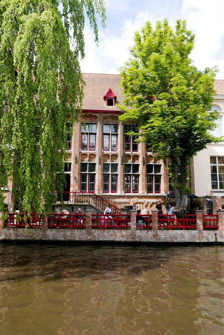 Bruges Beer Garden Canal