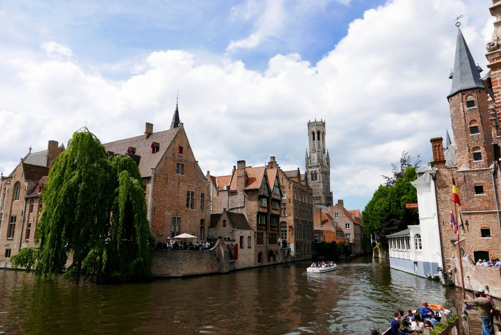 Day trip to Bruges Canal View