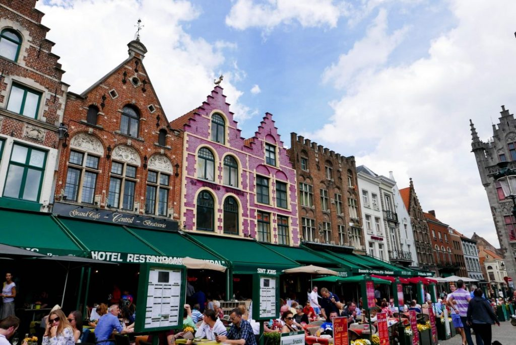 Bruges Markt, one of the best solo female travel destinations
