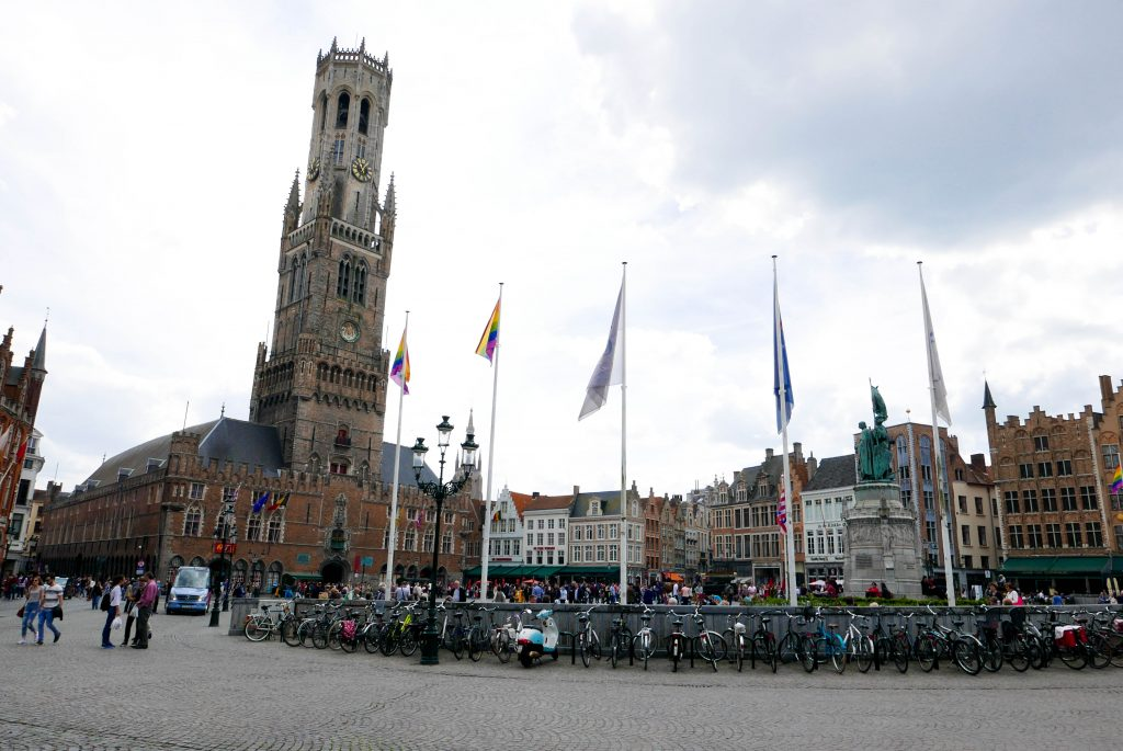 Day trip to Bruges Belfort Markt Square