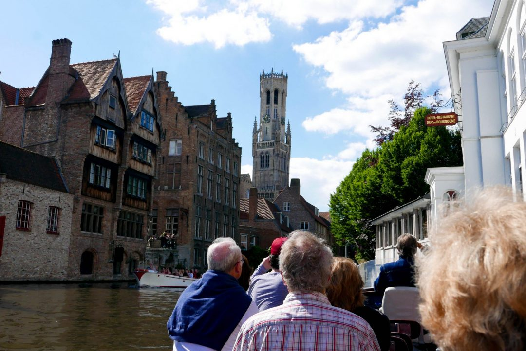 Bruges Canal Tour Canal View