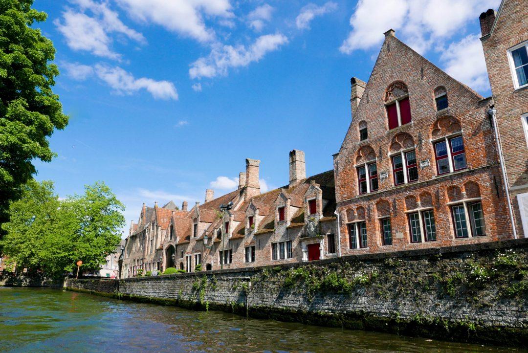 Bruges Canal Tour Building