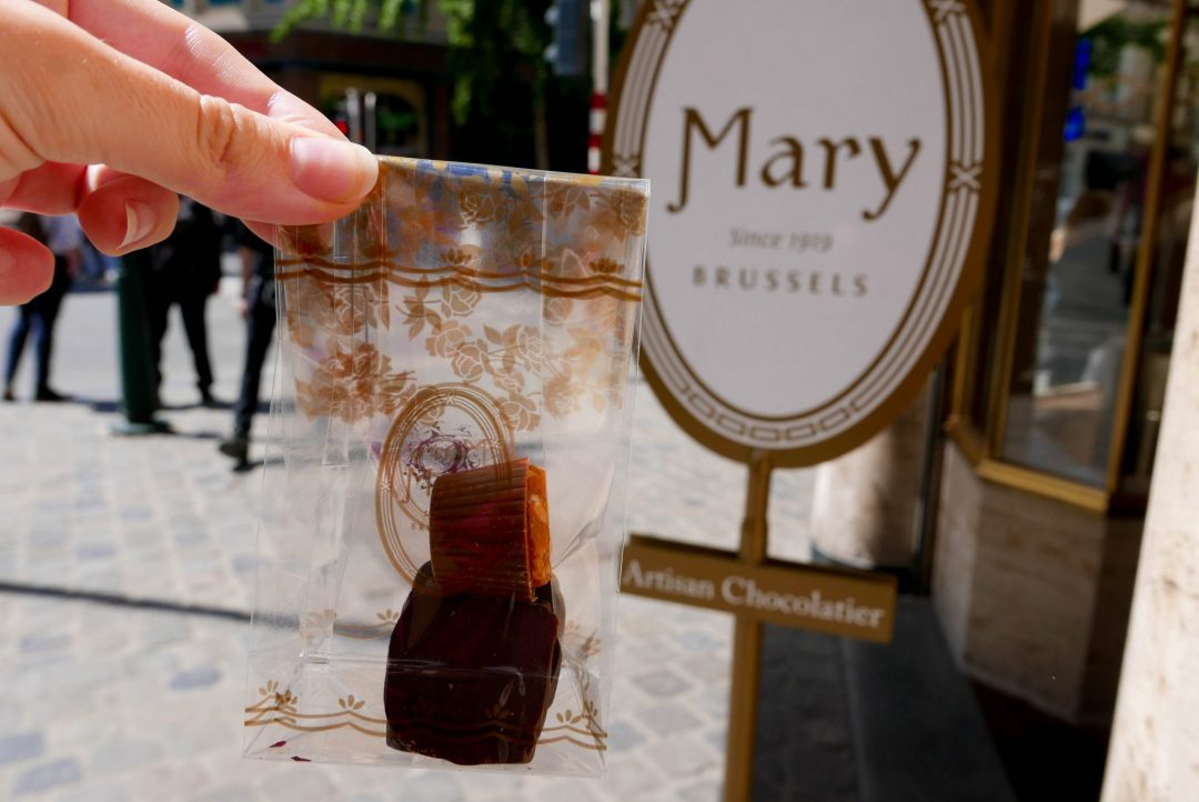 Mary Chocolatier Brussels Belgium on a Budget