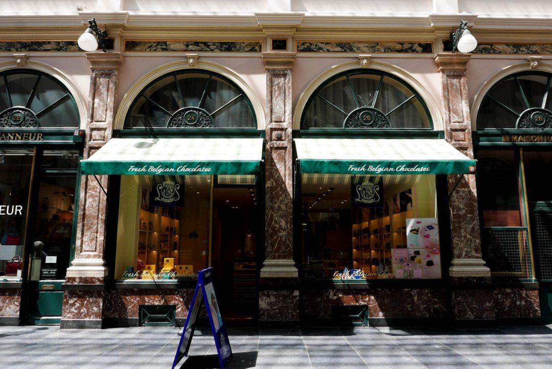 Leonidas Galeries Royales St Hubert Brussels